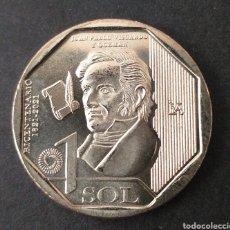 Monedas antiguas de América: MONEDA SC 1 SOL PERU AÑO 2020. Lote 293595793