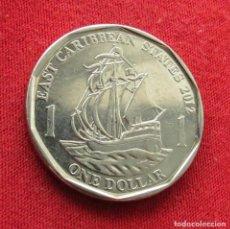 Monedas antiguas de América: CARIBE ORIENTAL 1 $ 2012 EAST CARIBBEAN VELERO. Lote 293842898