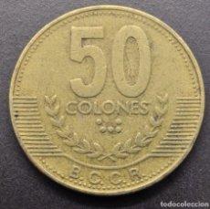 Monedas antiguas de América: COSTA RICA, 50 COLONES 1999. Lote 294510868