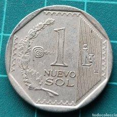 Monedas antiguas de América: PERÚ 1 NUEVO SOL 2014. Lote 295487133