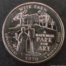 Monedas antiguas de América: MONEDA SC 1 CUARTO DE DOLAR ESTADOS UNIDOS AMÉRICA AÑO 2020. Lote 295492918