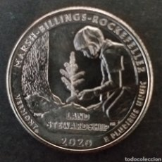 Monedas antiguas de América: MONEDA SC 1 CUARTO DE DOLAR ESTADOS UNIDOS AMÉRICA AÑO 2020. Lote 295494618