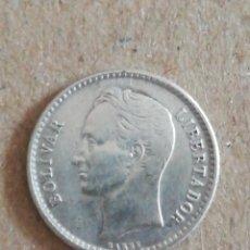 Monedas antiguas de América: ANTIGUA MONEDA 50 CÉNTIMOS VENEZUELA 1954 PLATA. Lote 295501213
