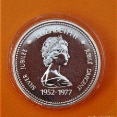 Monedas antiguas de América: CANADA 1 DOLAR 1977 PLATA PROOF.. Lote 295519243
