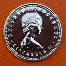 Monedas antiguas de América: CANADA 1 DOLAR 1978 PLATA PROOF.. Lote 295520868