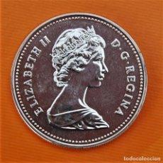 Monedas antiguas de América: CANADA 1 DOLAR 1983 PLATA PROOF.. Lote 295521553