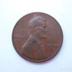 Monedas antiguas de América: MONEDA ESTADOS UNIDOS 1 CENTAVO 1970 D. Lote 295523038