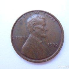 Monedas antiguas de América: MONEDA ESTADOS UNIDOS 1 CENTAVO 1972. Lote 295523258