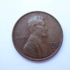 Monedas antiguas de América: MONEDA ESTADOS UNIDOS 1 CENTAVO 1973 D. Lote 295523598
