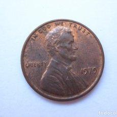 Monedas antiguas de América: MONEDA ESTADOS UNIDOS 1 CENTAVO 1979. Lote 295524513