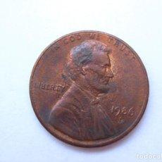 Monedas antiguas de América: MONEDA ESTADOS UNIDOS 1 CENTAVO 1986 D. Lote 295525133