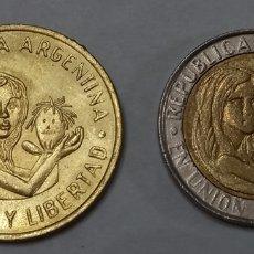 Monedas antiguas de América: MONEDAS ARGENTINAS CONMEMORATIVAS UNICEF. Lote 295546103