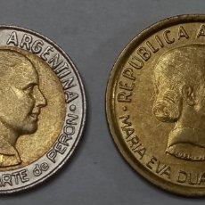Monedas antiguas de América: MONEDAS ARGENTINAS CONMEMORATIVAS EVA PERON. Lote 295546773