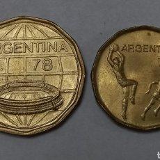 Monedas antiguas de América: MONEDAS ARGENTINAS MUNDIAL 1978. Lote 295547613