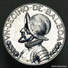 Monedas antiguas de América: DECIMO DE BALBOA PANAMA 2001. Lote 295638433