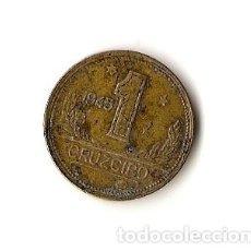 Monedas antiguas de América: 1 CRUZEIRO 1945 BRASIL. Lote 295916583