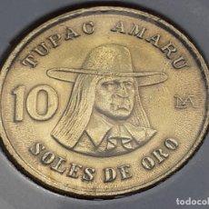 Monedas antiguas de América: PERU 10 SOLES DE ORO 1978. Lote 295984868