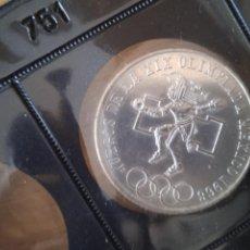 Monedas antiguas de América: 1968 JJOO DE MÉXICO. 25 PESOS DE PLATA. Lote 295988548