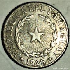 Monedas antiguas de América: PARAGUAY - 1 PESO 1925 - 2,93 GR. COBRE-NICKEL - DIAMETRO 19 MM - KM#13 - MB. Lote 296626713
