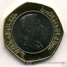 Monedas antiguas de Asia: JORDANIA 1/2 DINAR 2000 BIMETALICA. Lote 16972808