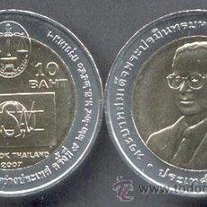 Monedas antiguas de Asia: TAILANDIA 10 BAHT 2007 IASAJ. Lote 191122900