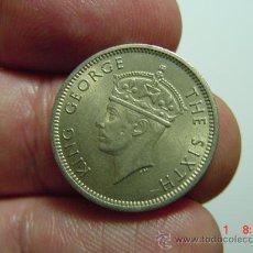 Monedas antiguas de Asia: 2310 MALASIA MALAYA 10 CENTS AÑO 1950 - MIRA CIENTOS DE MONEDAS EN MI TIENDA COSAS&CURIOSAS. Lote 16188082