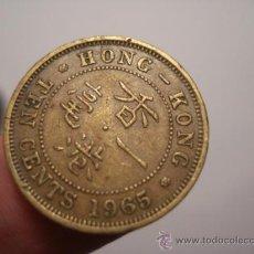 Monedas antiguas de Asia: 17 HONG KONG MONEDA 10 CENTAVOS AÑO 1965 OCASION !!!! - A DIARIO MONEDAS A PRECIOS BAJOS. Lote 27824638