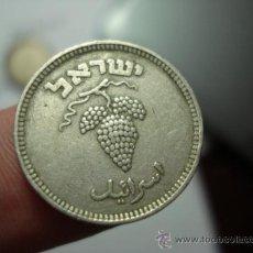 Monedas antiguas de Asia: 190 ISRAEL MONEDA DE 25 PRUTAH AÑO 1949 - OCASION !! A DIARIO MONEDAS A BAJO PRECIO. Lote 28147349