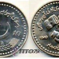 Monedas antiguas de Asia: PAQUISTAN / PAKISTAN 10 RUPIAS 2009 60º ANIV. INDEPENDENCIA. Lote 214068656