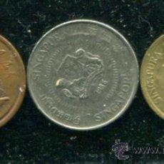 Monedas antiguas de Asia: LOTE FORMADO POR 3 MONEDAS DIFERENTES SINGAPUR.. AÑOS 1975, 1986 Y 1989. Lote 30819027