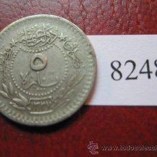 Monedas antiguas de Asia: TURQUIA , IMPERIO OTOMANO , 5 PARA , 1327 /5....1913 TURKIA. Lote 31327098