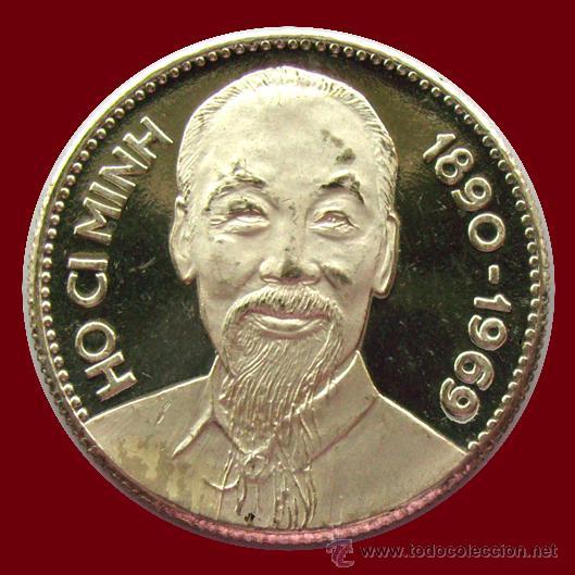 VIETNAM DEL NORTE . MEDALLA HÔ CHI MINH (Numismática - Extranjeras - Asia)