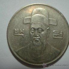 Monedas antiguas de Asia: COREA DEL SUR KOREA DEL SUR MONEDA 100 WON AÑO 1992. Lote 34112805