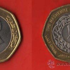 Monedas antiguas de Asia: JORDANIA 1/2 DINAR 1997, BIMETALICA. Lote 34226434