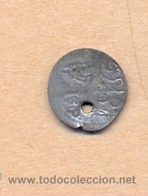 MONEDA 308 - IMPERIO OTOMANO - PARA - PLATA - SOBRE 1800 - MACUQUINA - OTTOMAN EMPIRE - PARA - SILV (Numismática - Extranjeras - Asia)