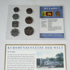 Monedas antiguas de Asia: SRI LANKA EN PLÁSTICO 1978 - 1996. Lote 35908620