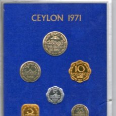 Monedas antiguas de Asia: CEILAN--------ESTUCHE MONEDAS 1971-------------PROOF. Lote 37647728