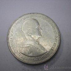 Monedas antiguas de Asia: 5 PENGO DE PLATA DE HUNGRIA DE 1930. 10 AÑOS DE REGENCIA. Lote 37762858