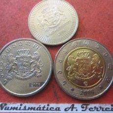 Monedas antiguas de Asia: SERIE DE 3 MONEDAS DE GEORGIA. Lote 40800822
