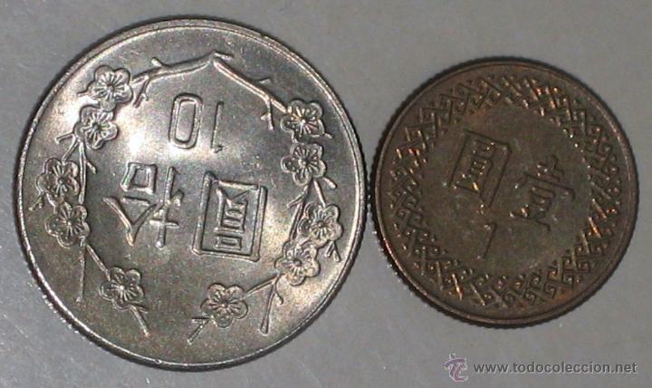 Monedas antiguas de Asia: 2 DE CHINA / TAIWAN - Foto 2 - 40885752