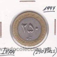 Monedas antiguas de Asia: IRAN 250 RIALS 1997. Lote 41991644