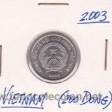 Monedas antiguas de Asia: VIETNAM 200 DONG 2003. Lote 41999737