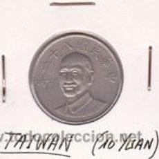 Monedas antiguas de Asia: TAIWAN 10 YUAN. Lote 42000083