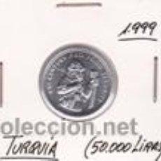 Monedas antiguas de Asia: TURQUIA 50000 LIRAS 1999 (FAO). Lote 42103225