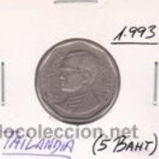 Monedas antiguas de Asia: TAILANDIA 5 BAHT 1993. Lote 42227467