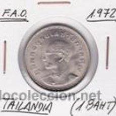 Monedas antiguas de Asia: TAILANDIA 1 BAHT 1972 (FAO). Lote 42227505
