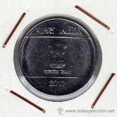 Monedas antiguas de Asia: INDIA : 1 RUPEE 2010 ( PUNTO ) EBC. Lote 42437679