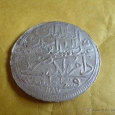 Monedas antiguas de Asia: AÑO 6 (1779) ABDUL HAMID I CONSTANTINOPLA 2 ZLOTA VELLON EBC. Lote 42583232