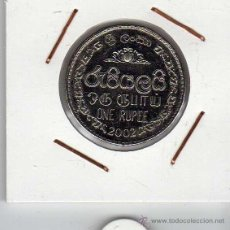 Monedas antiguas de Asia: SRI LANKA : 1 RUPEE 2002 EBC+. Lote 43739382