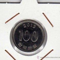 Monedas antiguas de Asia: COREA DEL SUR : 100 WON 2013 SIN CIRCULAR . Lote 44469045